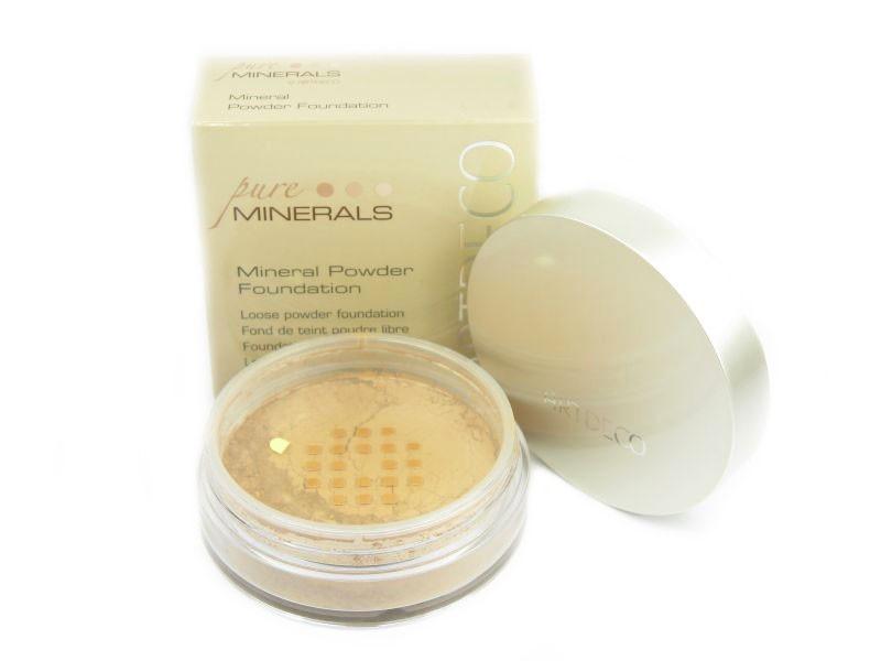 Artdeco Mineral Powder Foundation (W) podkład mineralny 3 soft ivory 15g