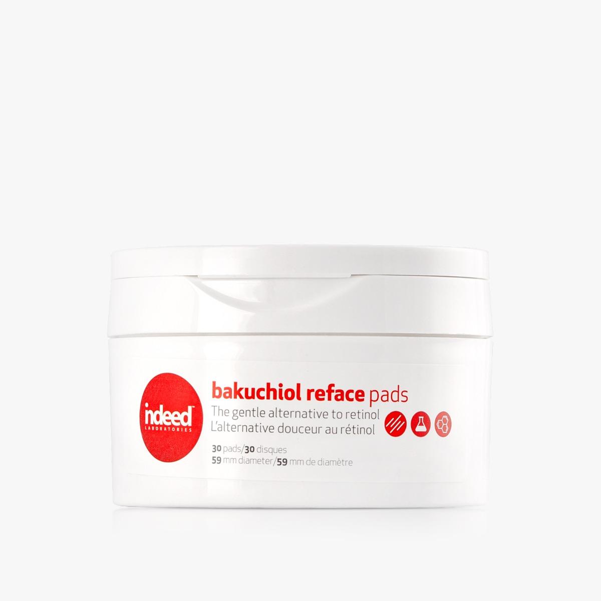 Indeed Labs Bakuchiol Reface Pads (W) regenerujące płatki do twarzy 30pcs