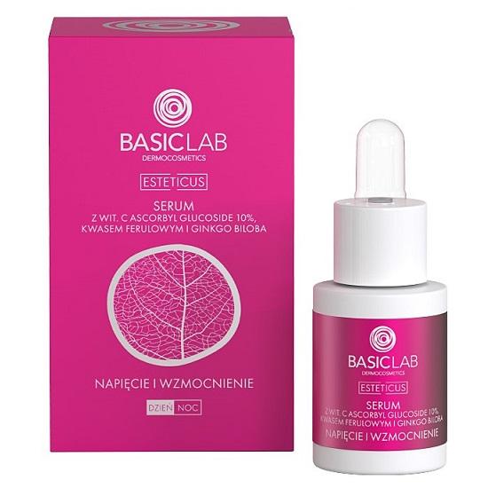 BasicLab Esteticus (W) kuracja przeciwzmarszczkowa Napięcie i Wzmocnienie Naczynek 15ml