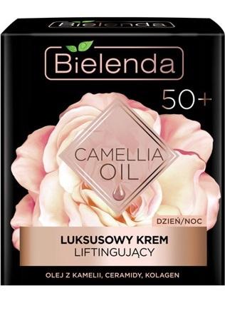 Bielenda Camellia Oil 50+(W) luksusowy krem liftingujący do twarzy na dzień/noc 50ml