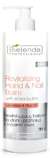 Bielenda Professional Revitalizing Hand & Nail Balm With Shea Butter (W) rewitalizujący balsam do rąk SPF6 500ml