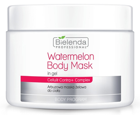 Bielenda Professional Watermelon Body Mask In Gel (W) arbuzowa maska żelowa do ciała 600ml