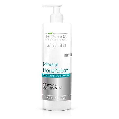 Bielenda Professional Hand Program Mineral Hand Cream (W) mineralny krem do rąk 500ml