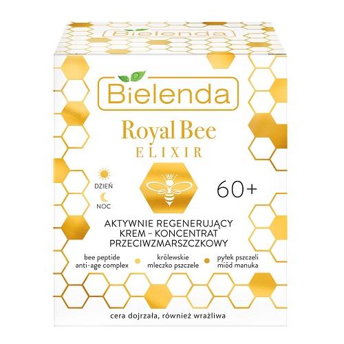 Bielenda Royal Bee Elixir (W) aktywnie regenerujący krem-koncentrat przeciwzmarszczkowy 60+ 50ml