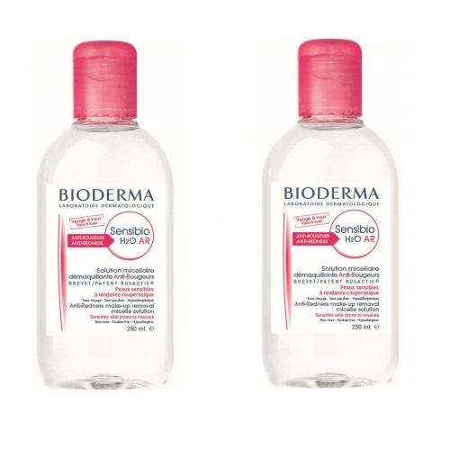 Bioderma Sensibio AR H2O 1+1 (W) płyn micelarny do twarzy 2x250ml