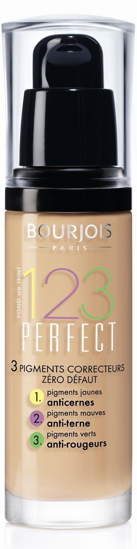 Bourjois 123 Perfect (W) podkład 52 Vanille 30ml