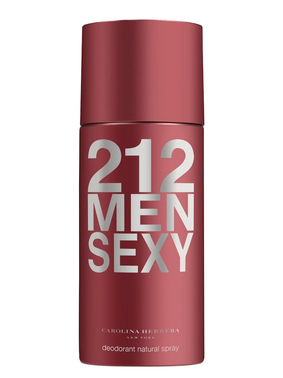 Carolina Herrera 212 Sexy dezodorant w sprayu dla mężczyzn 150ml