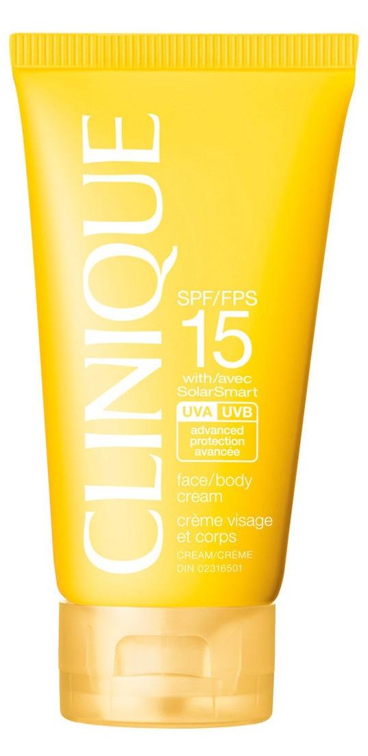 Clinique Sun Face Body Cream SPF15 (W) krem do opalania 150ml