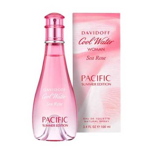 Davidoff Cool Water Sea Rose Pacific Summer Edition (W) edt 100ml