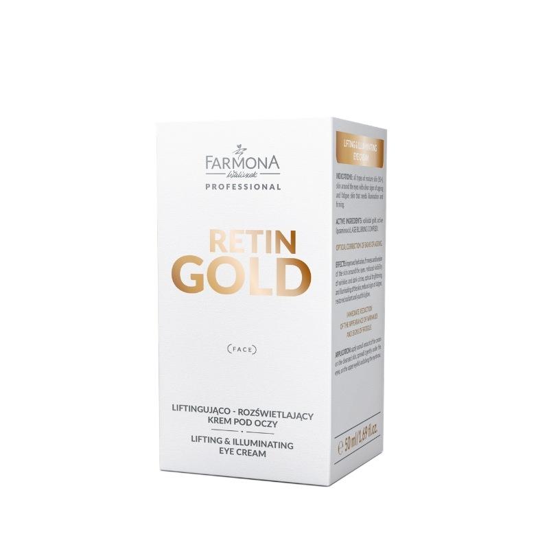 Farmona Professional Retin Gold (W) liftingująco-rozświetlający krem pod oczy 50ml