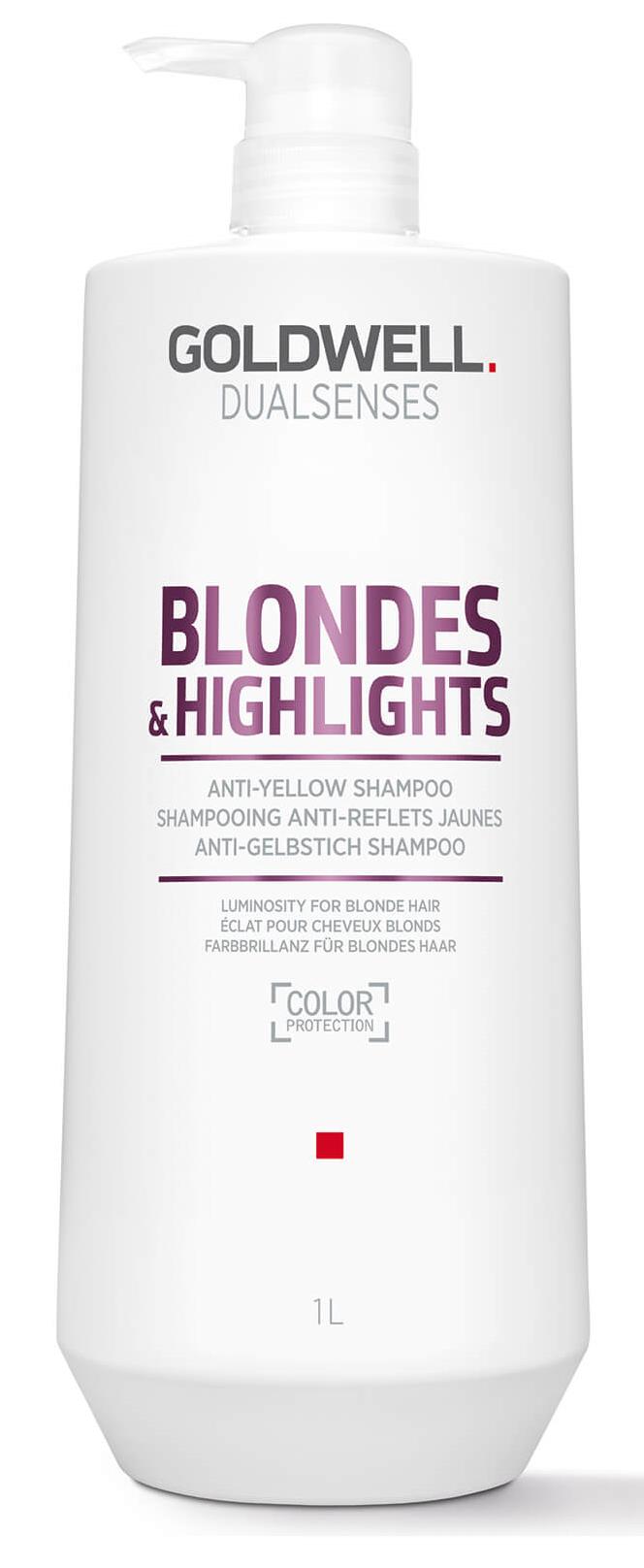 Goldwell Dualsenses Blondes & Highlights Anti-Yellow Conditioner (W) odżywka do włosów blond 1000ml