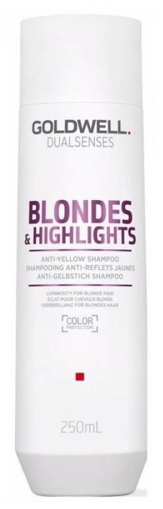 Goldwell Dualsenses Blondes & Highlights Anti-Yellow Shampoo (W) szampon do włosów blond 250ml