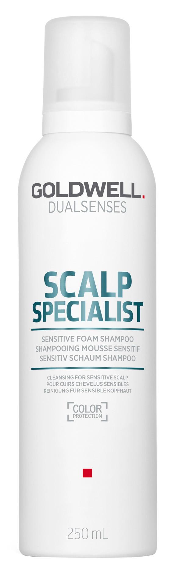 Goldwell Dualsenses Scalp Sensitive Foam Shampoo (W) szampon do włosów wrażliwych 250ml