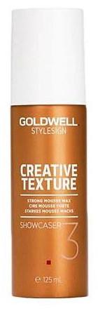 Goldwell StyleSign Creative Texture Showcaser (W) wosk w piance do włosów 125ml