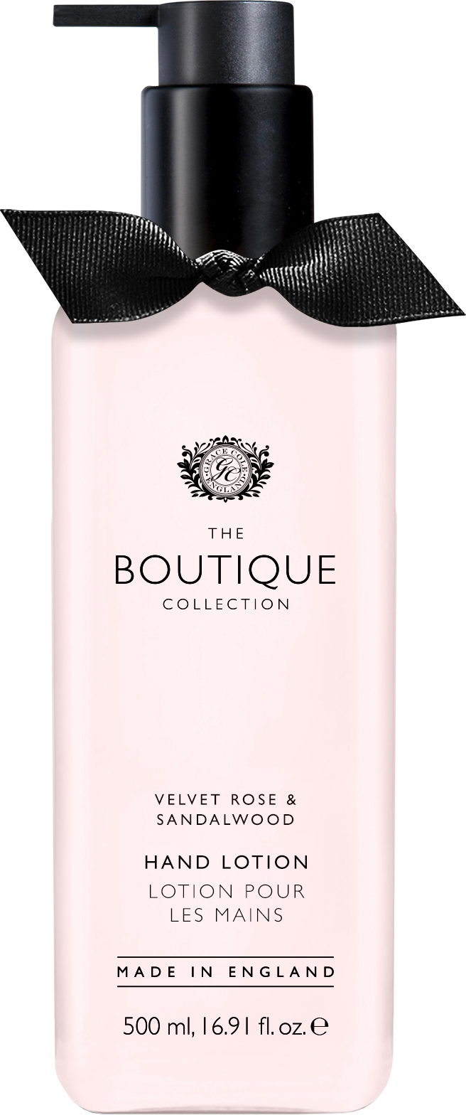 Grace Cole The Boutique Collection Velvet & Sandalood (W) balsam do rąk 500ml