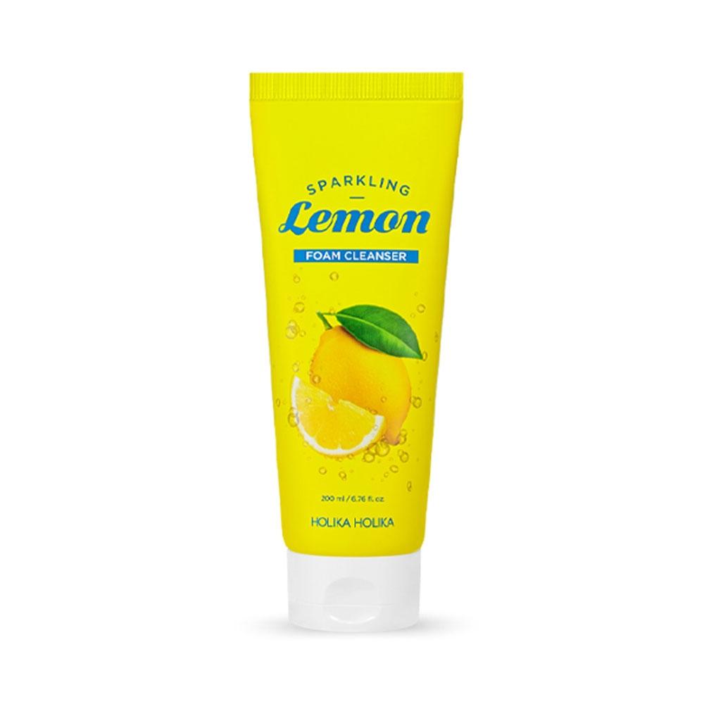 Holika Holika Carbonic Acid Lemon Foam Cleanser (W) żel do mycia twarzy 200ml