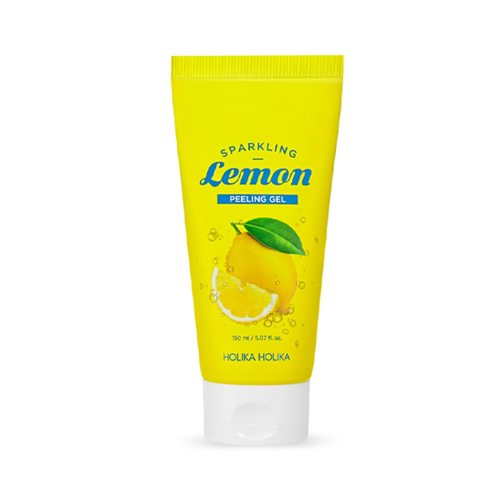 Holika Holika Carbonic Acid Lemon Peeling Gel (W) peelingujący żel do twarzy 150ml