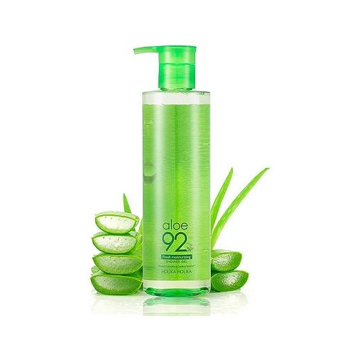 Holika Holika Aloe 92% Fresh Moisturizing (W) żel pod prysznic 390ml