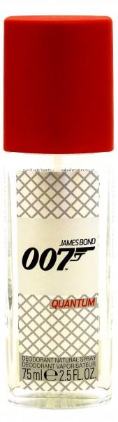 James Bond 007 Quantum dezodorant w sprayu dla mężczyzn 75ml