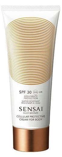 Kanebo Sensai Silky Bronze Cellular Protective Cream For Body SPF30 (W) krem do opalania 150ml