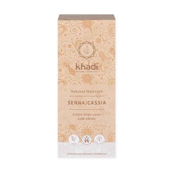 Khadi Natural Haircare (W) henna do włosów bezbarwna 100g