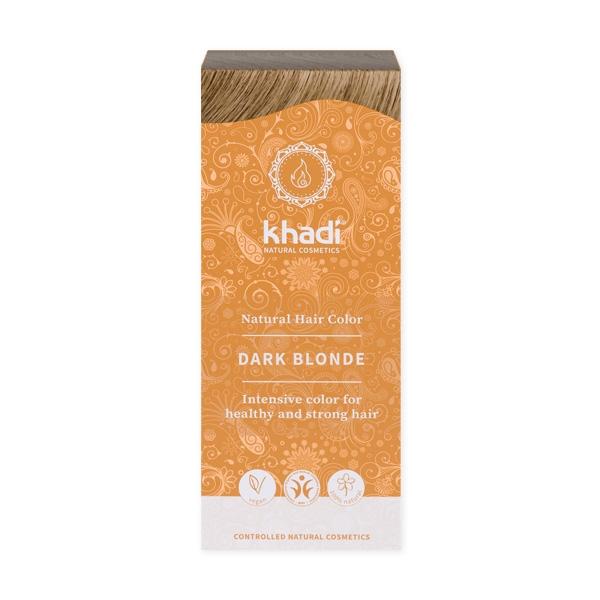 Khadi Natural Haircare (W) henna do włosów naturalna ciemny blond 100g