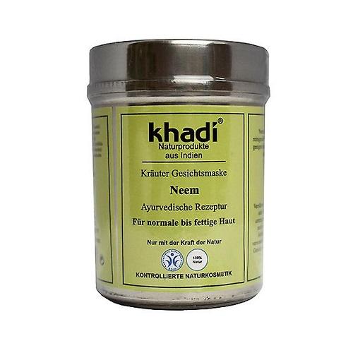 Khadi Natural Herbal Face Mask (W) antybakteryjna maseczka do twarzy z Neem 50g