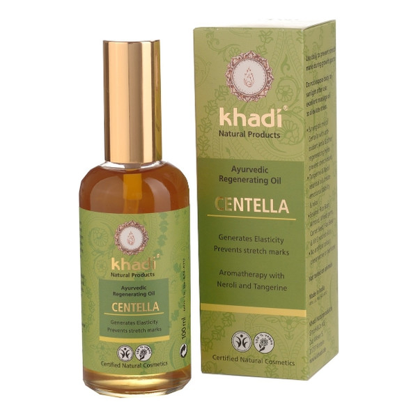 Khadi Natural Products (W) olej Centella na rozstępy 100ml