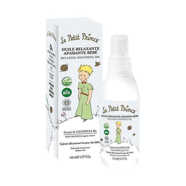 Le Petit Prince Moisturizing Relaxing Smoothing Oil (U) kojący olejek do masażu dla dzieci 150ml