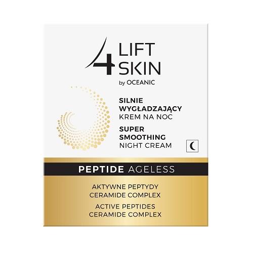 Lift 4 Skin Peptide Ageless Super Smoothing Night Cream (W) silnie wygładzający krem na noc Aktywne Peptydy Ceramide Complex 50ml