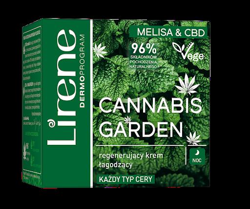 Lirene Cannabis Garden (W) regenerujący krem łagodzący na noc 50ml