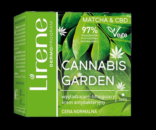 Lirene Cannabis Garden (W) wygładzająco-liftingujący krem antybakteryjny na dzień 50ml