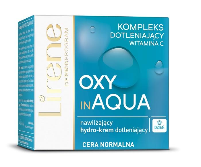 Lirene Oxy in Aqua (W) nawilżający hydro-krem dotleniający na dzień 50ml