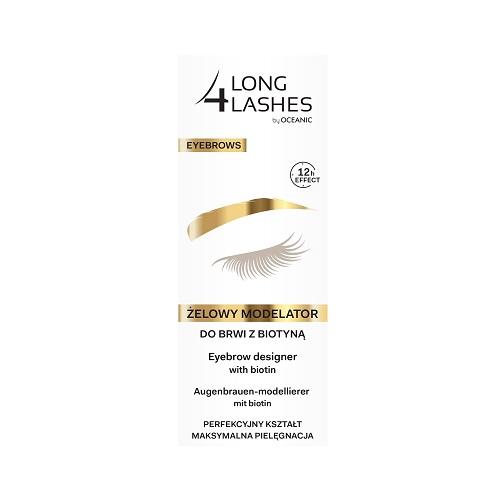 Long 4 Lashes Eyebrow (W) żelowy modelator do brwi z biotyną 8ml