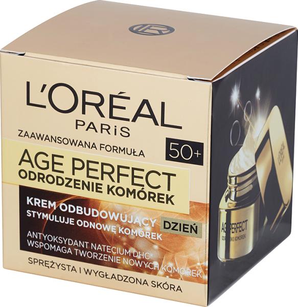 L'Oreal Age Perfect 50+ Odrodzenie Komórek (W) krem do twarzy na dzień 50ml