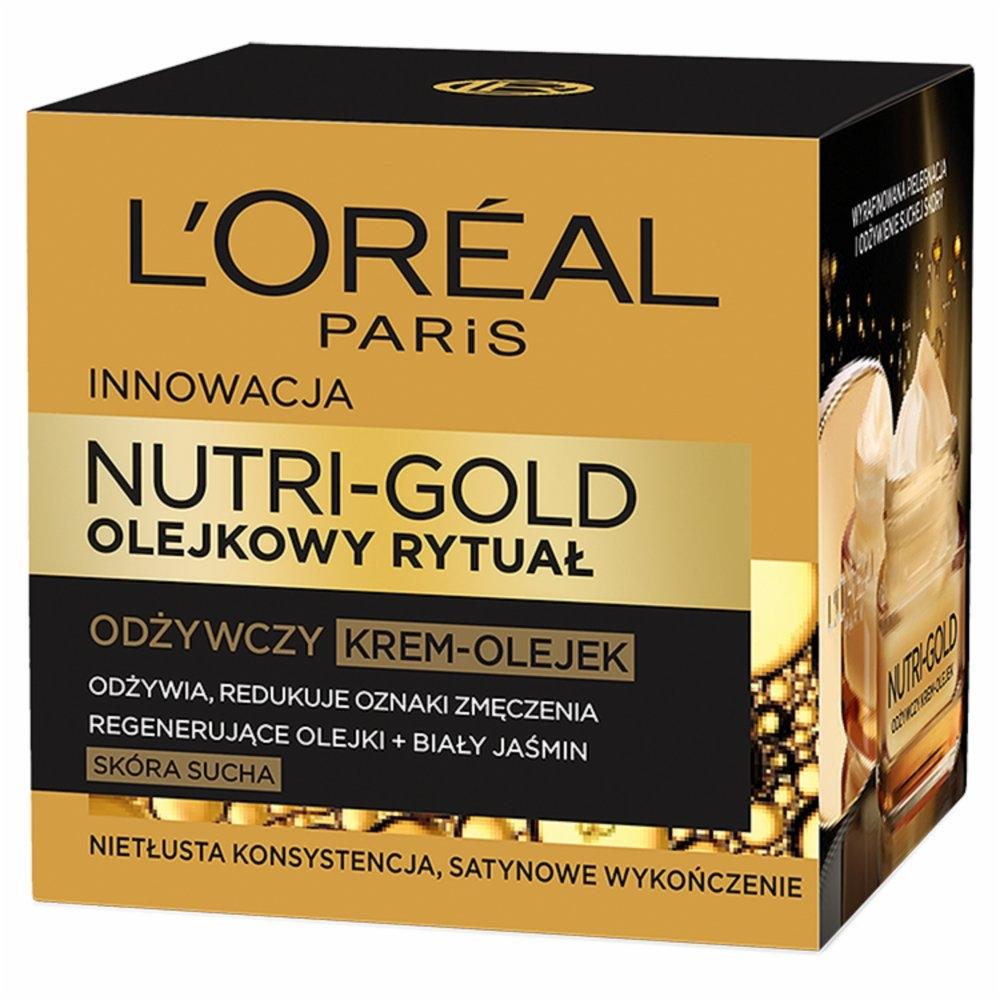 L'oreal Nutri Gold Olejkowy Rytuał (W) krem-olejek do twarzy 50ml