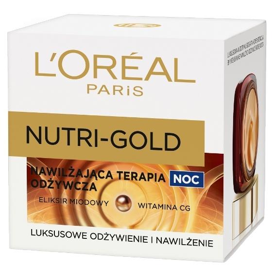 L'oreal Nutri Gold (W) odżywczy krem na noc 50ml