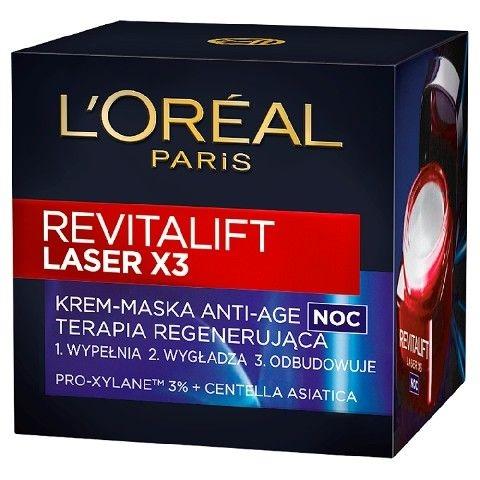 L'Oreal Revitalift Laser X3 (W) krem- maska do twarzy na noc 50ml