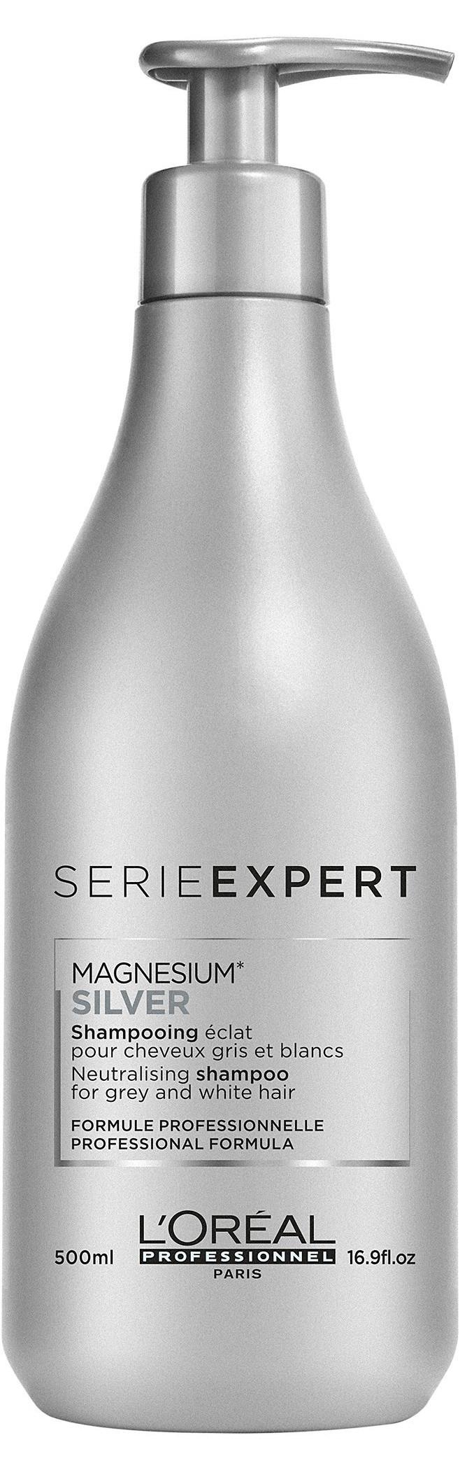 L'Oreal Serie Expert Magnesium Silver Shampoo (W) szampon do włosów 500ml