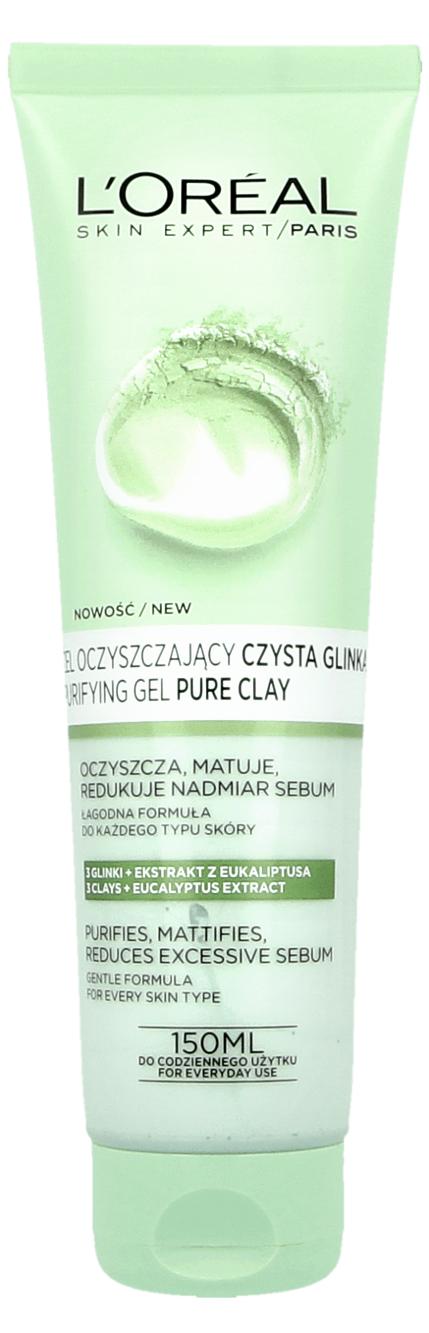 L'Oreal Skin Expert Czysta Glinka (W) żel oczyszczający do twarzy 150ml