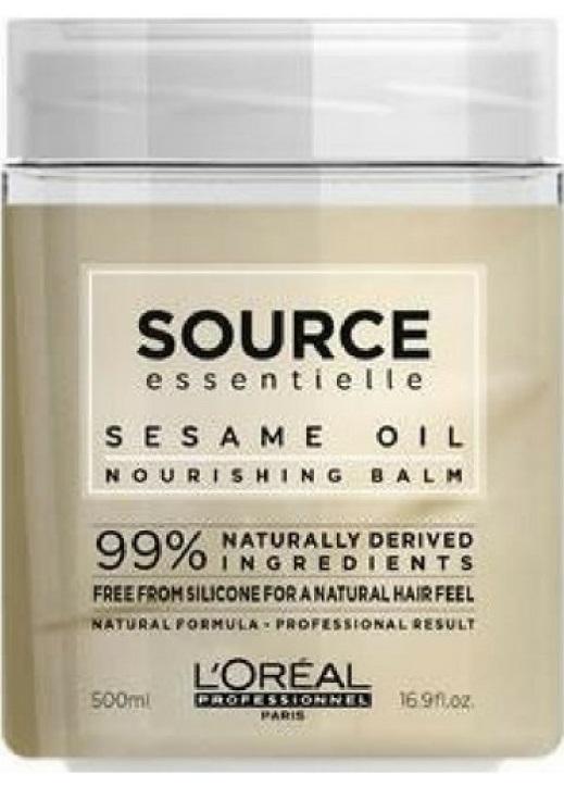 L'Oreal Source Essentielle Nourishing Balm (W) odżywcza maska do włosów suchych 500ml