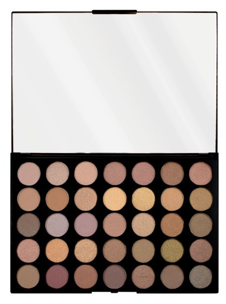 Makeup Revolution Pro HD Palette Amplified (W) zestaw 35 cieni do powiek Commitment 30g