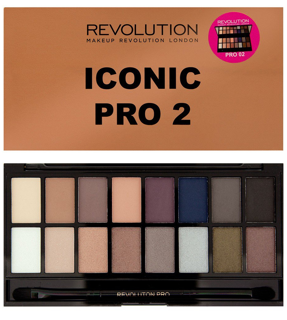 Makeup Revolution Salvation Palette (W) paleta 16 cieni do powiek Iconic Pro 2 16g