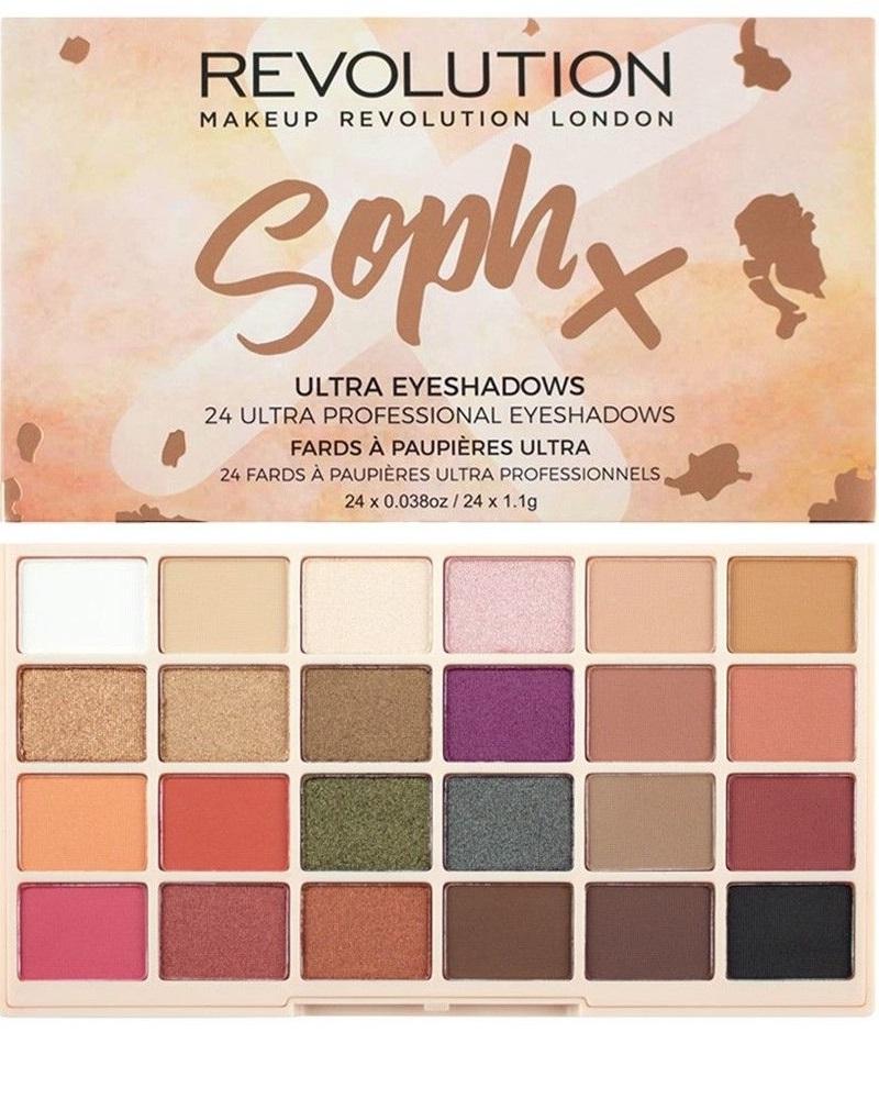 Makeup Revolution Soph X Eyeshadow Palette (W) paleta cieni do powiek