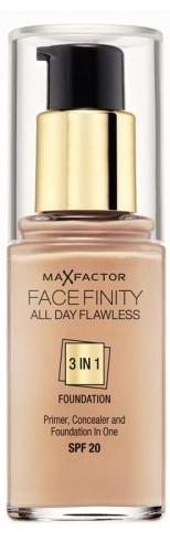 Max Factor Facefinity 3 in1 (W) podkład 48 Warm Nude 30ml