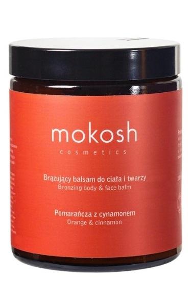Mokosh (W) balsam brązujący do ciała Pomarańcza z cynamonem 180ml