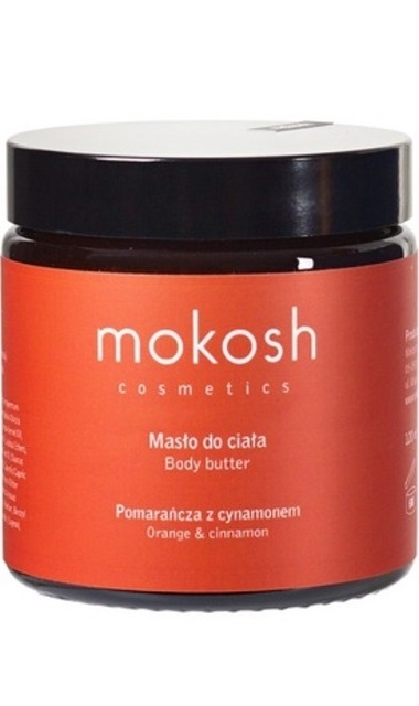 Mokosh (W) masło do ciała Pomarańcza z cynamonem 120ml