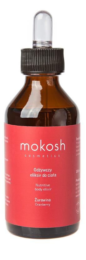 Mokosh (W) odżywczy eliksir do ciała Żurawina 100ml