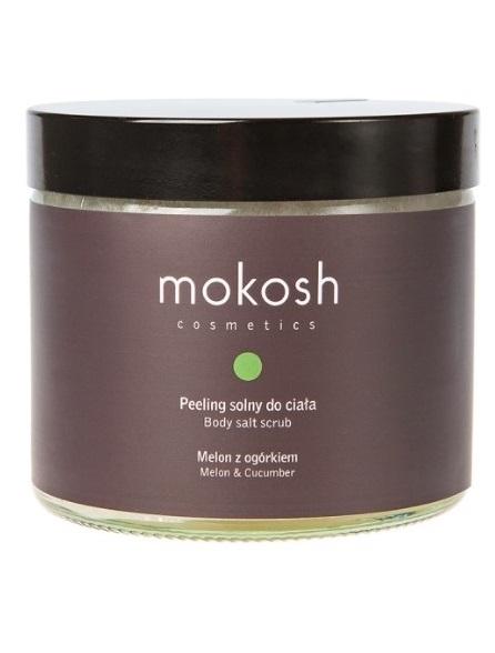 Mokosh (W) peeling solny do ciała Melon z ogórkiem 300g