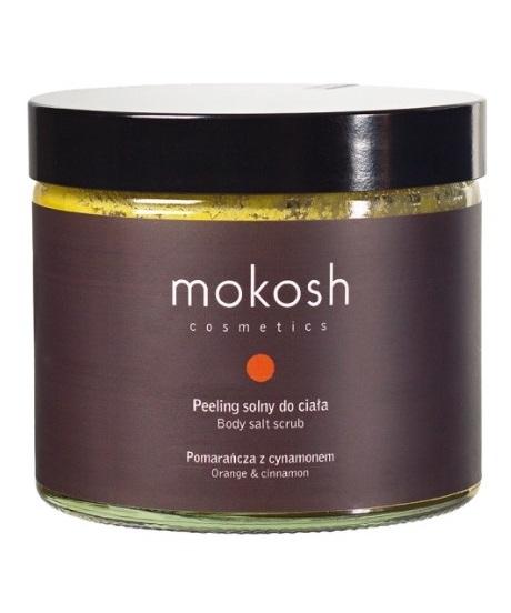 Mokosh (W) peeling solny do ciała Pomarańcza z cynamonem 300g